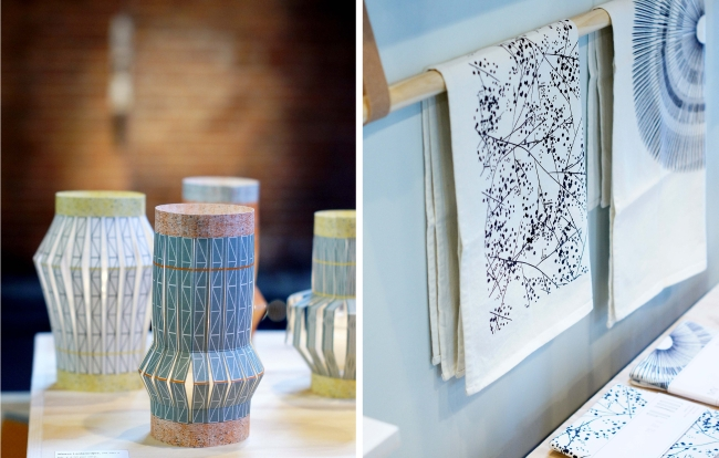 Show Up Amsterdam | lanterns and tea towels by Jurianne Matter