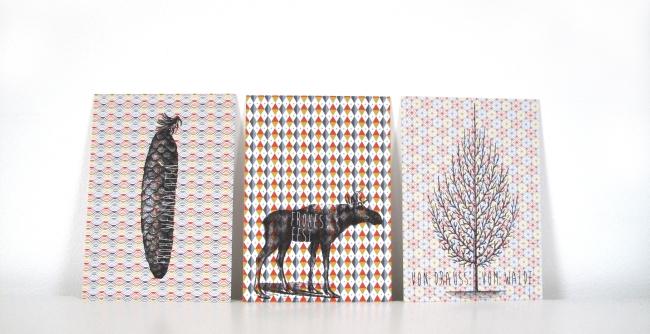 Weihnachtskarten von ava&yves