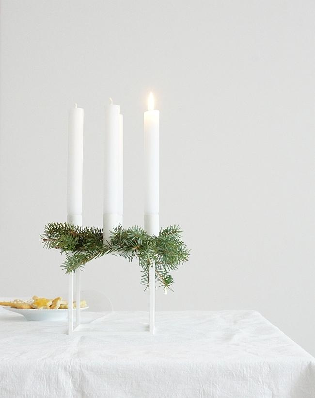 Kubus von by Lassen als Adventskranz