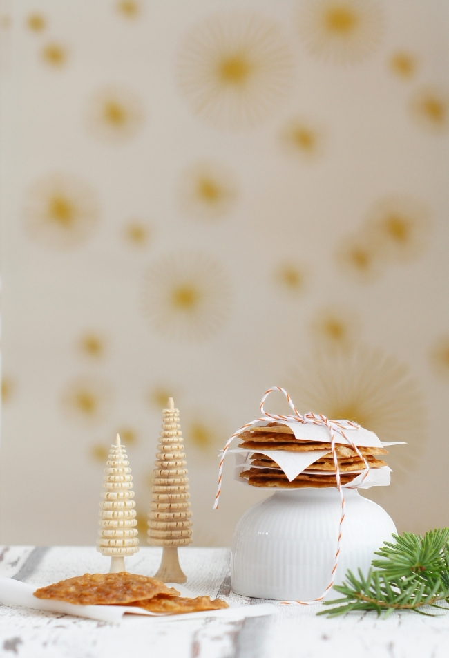 Weihnachtsbäckerei: Haferflocken Ingwer Kekse
