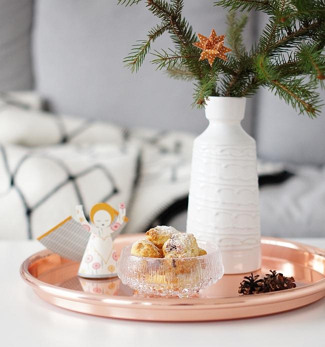 Weihnachtsbäckerei Aprikosenstollen
