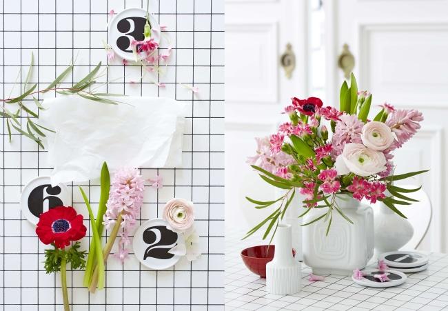 Living at home Wohnen mit Blumen