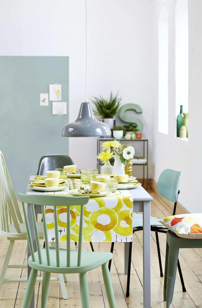 Tisch des Monats Living at home