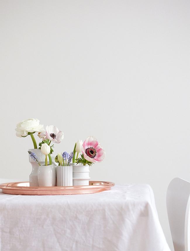 Minivasen von Rosenthal und Lyngby