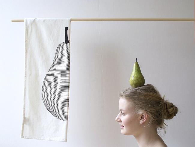 Geschirrtuch Pear | Foto: Jurianne Matter
