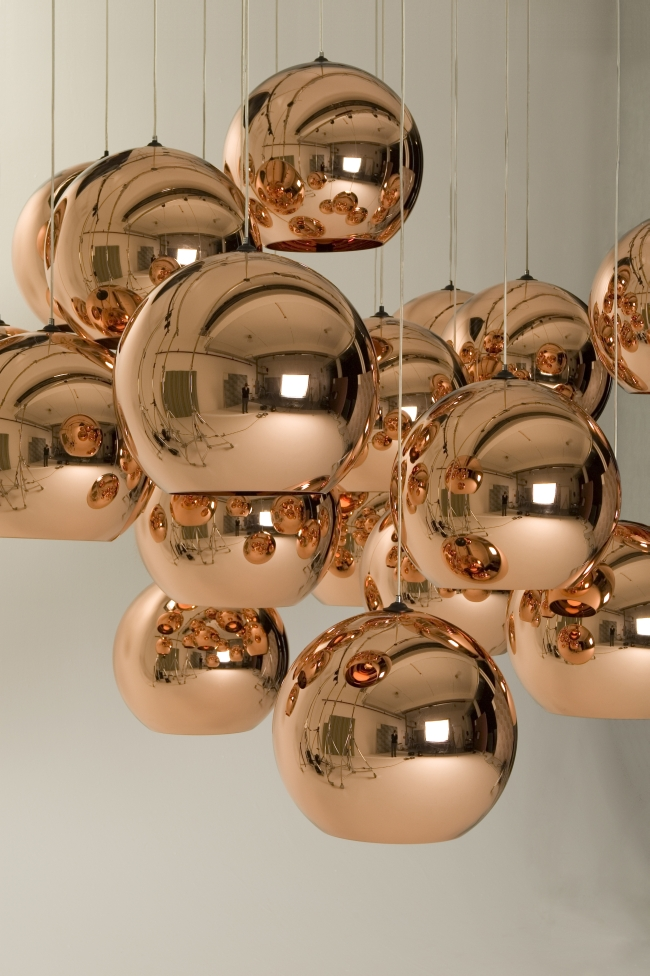 Copper Pendelleuchte von Tom Dixon
