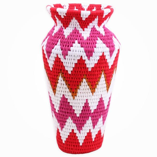 Fluoro Vase
