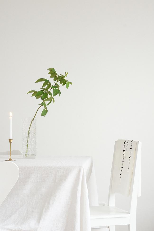 vintage messingleuchter und vase | Foto: Sabine Wittig