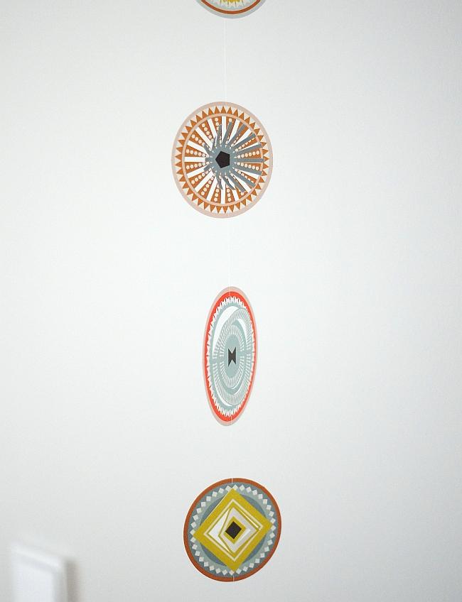 Papierornamente Circles von Jurianne Matter