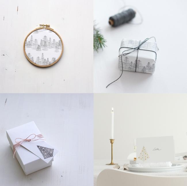 minimal christmas | Sabine Wittig