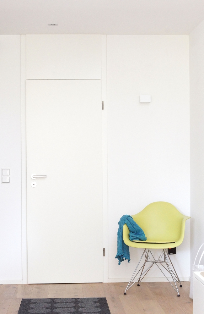 Eames Chair im Eingangsbereich