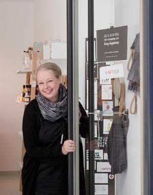 Sabine Stadtherr in ihrem Room to Dream in München