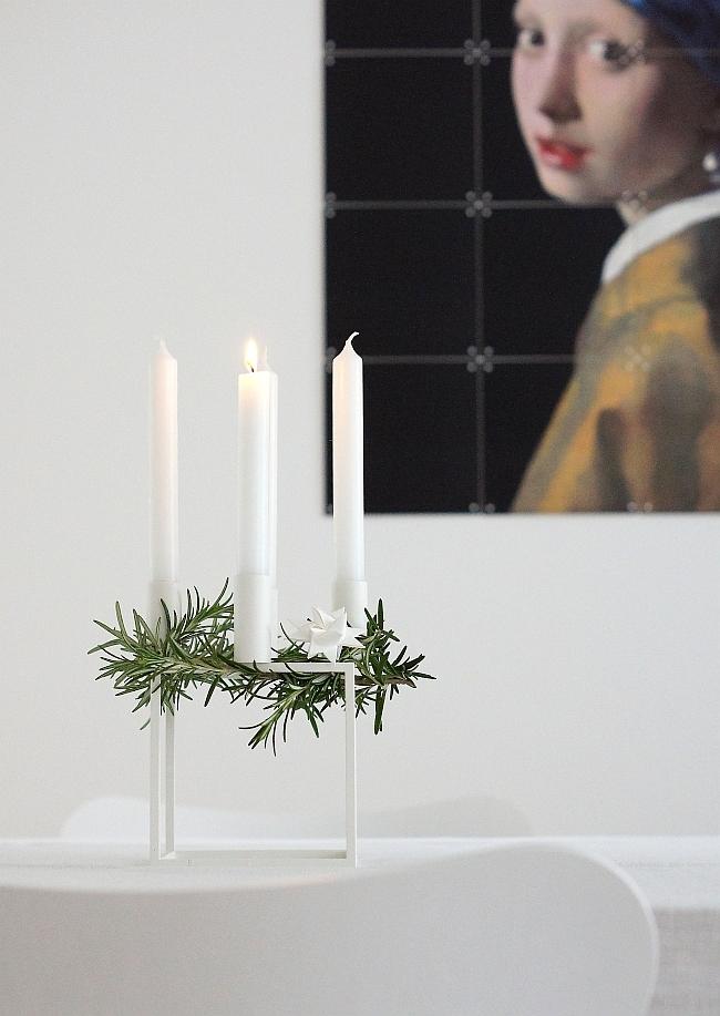 by Lassen Kubus als Adventskranz