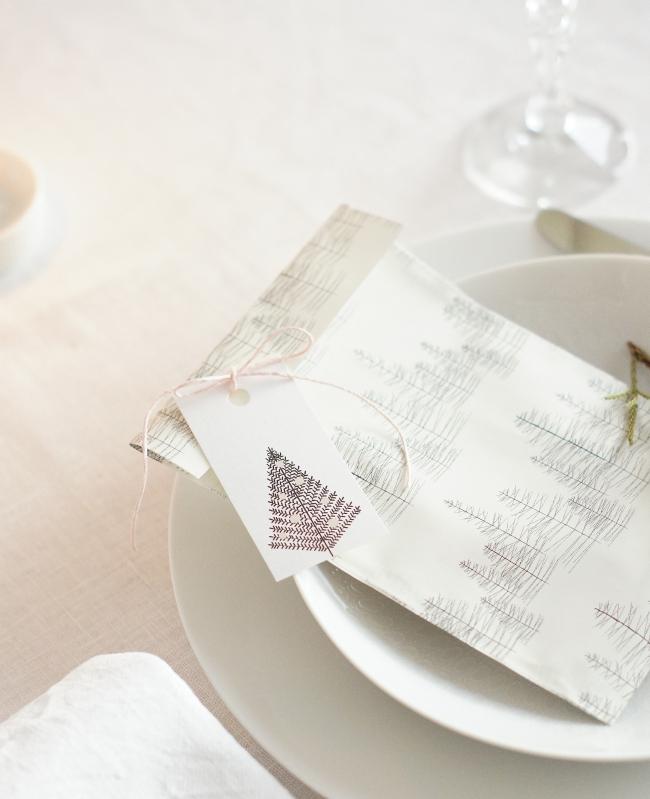 Geschenkanhänger Christbaum | Design: Jurianne Matter