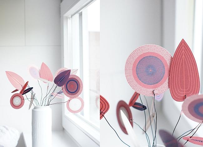 Papierblüten Blatt von Jurianne Matter | Fotos: Sabine Wittig