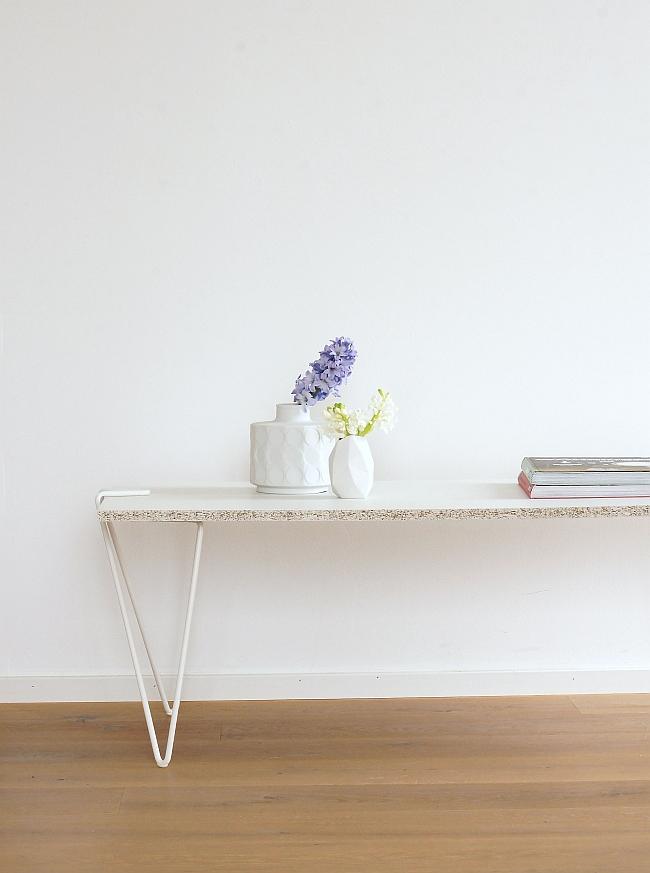 """DIY Tisch mit Beinen """"Tick"""" aus der Linie 58 von Jakob Schenk"""