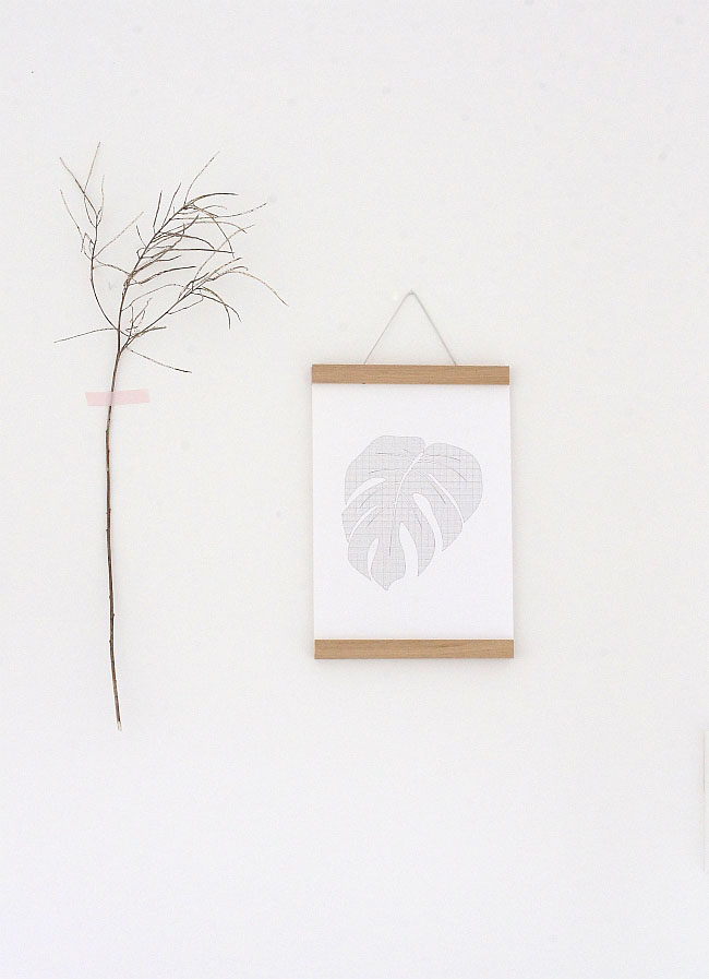 Philodendron Poster A4