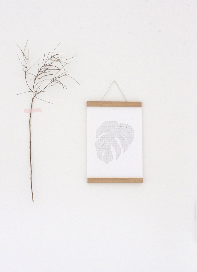A4 Poster Philodendron