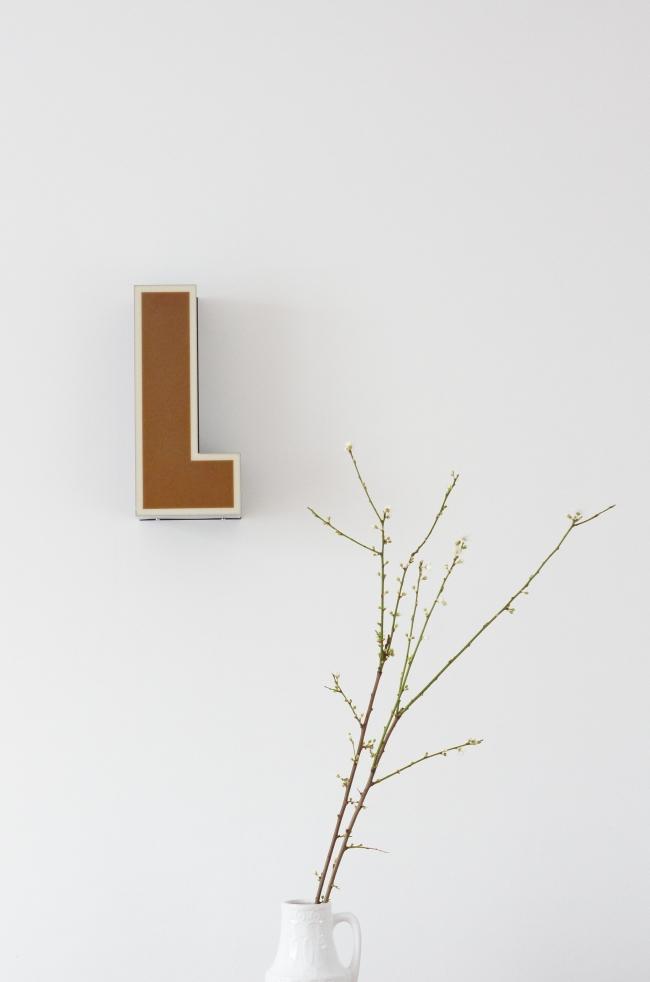 Leuchtbuchstabe L