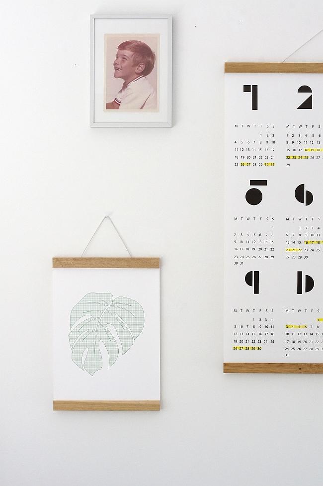 Wandgestaltung im Home office | Foto: Sabine Wittig