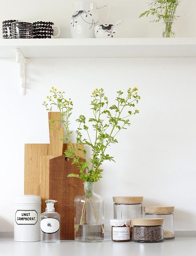 Küchendeko   Foto: Sabine Wittig