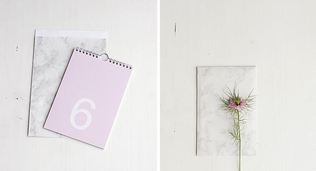Papiertüten Marmor | Fotos: Sabine Wittig