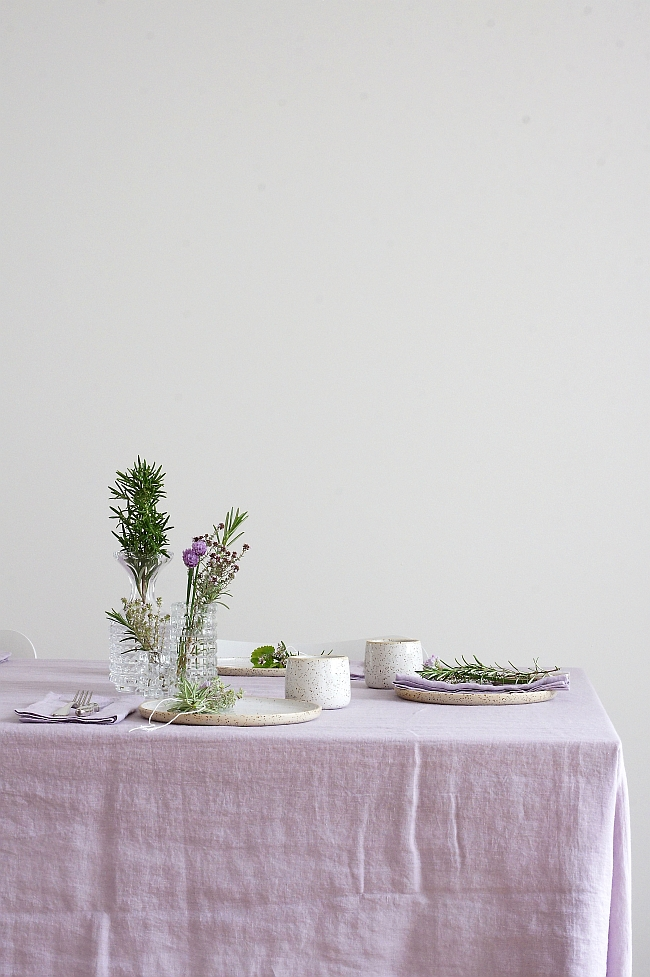 Urban Jungle Bloggers | Planty table setting | Foto: Sabine Wittig
