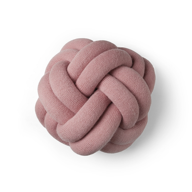 Kissen Knot in rosa