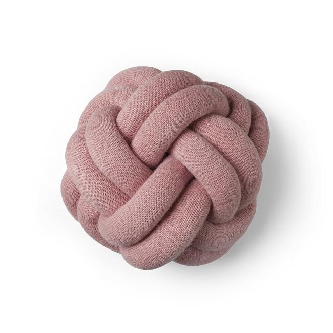 Kissen Knot in rosa