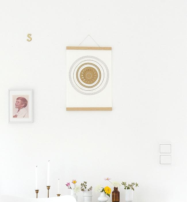 Poster Sun von Jurianne Matter | Foto: Sabine Wittig
