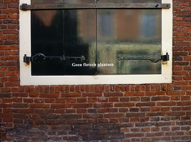 Fahrräder abstellen verboten | Haarlem | Foto: Sabine Wittig