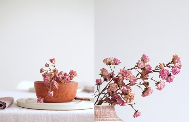 Terrakotta und rosa | Styling und Fotos: Sabine Wittig