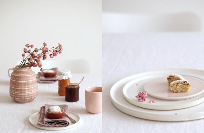 Rosa und Terrakotta | Styling und Fotos: Sabine Wittig