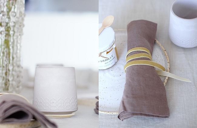 Keramik, Leinen, Samt | Fotos: Sabine Wittig
