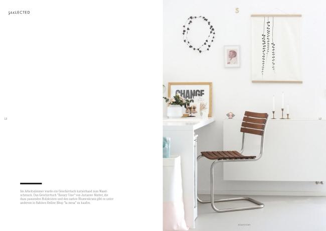 Homestory im seelected Magazin | Fotos: Sabine Wittig