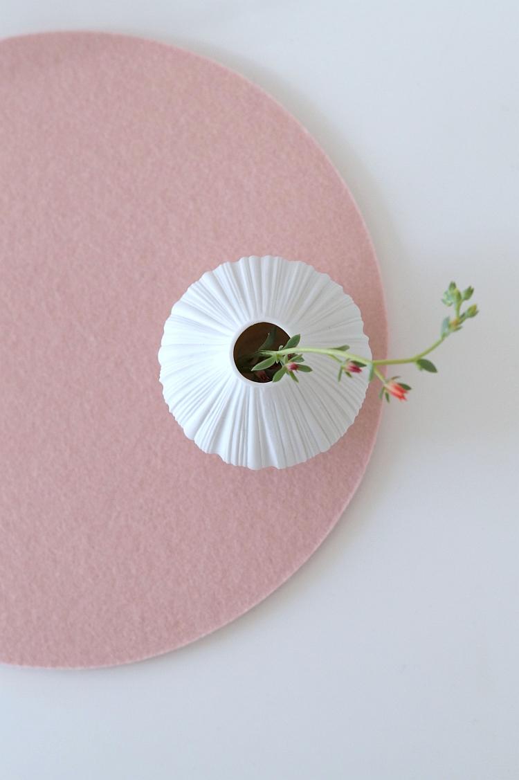 Filzuntersetzer rosa | Foto: Sabine Wittig