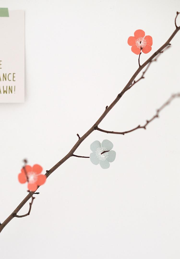 Papierblüten von Jurianne Matter | Foto: Sabine Wittig