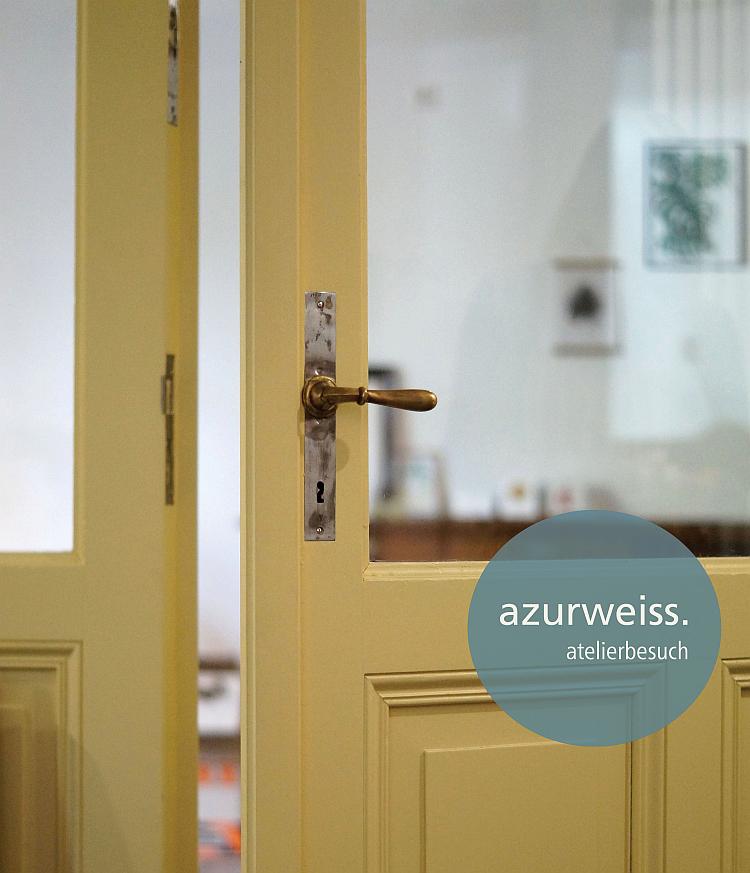 azurweiss atelierbesuch | Foto: Sabine Wittig