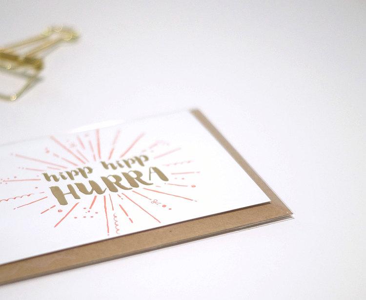 Letterpress Karte von Céline Mehl | Foto: Sabine Wittig