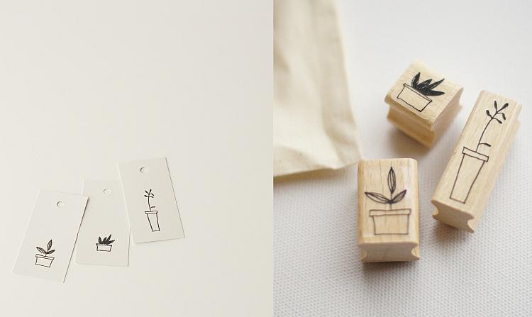 Stempel Topfpflanzen von BasisRike | Fotos: Sabine Wittig