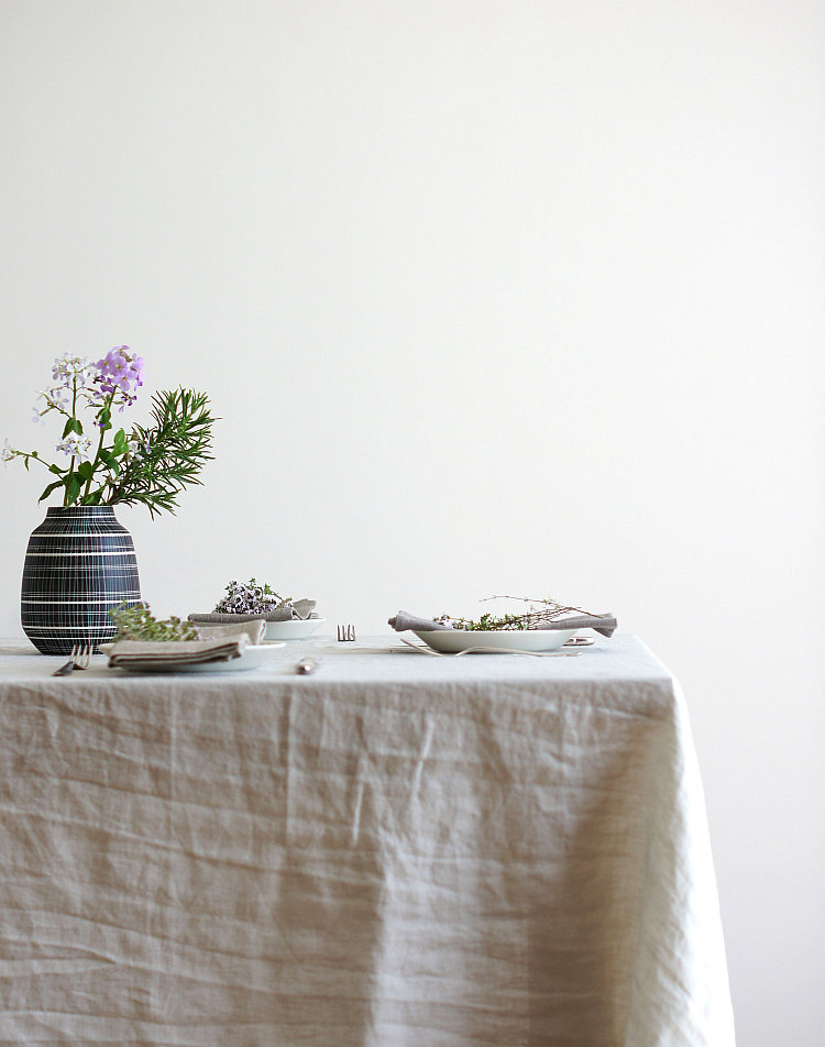 Leinentischdecke von Serax | Foto: Sabine Wittig
