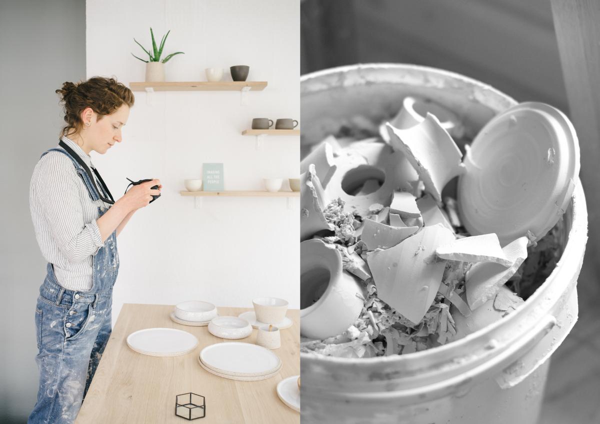 azurweiss Atelierbesuch bei suntree studio in Hamburg | Foto: Sabine Wittig