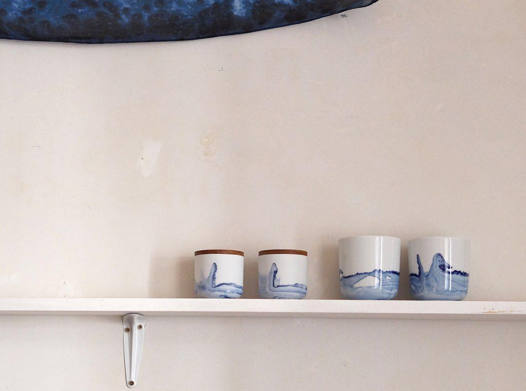 Porzellanserie TIDE von Anna Badur | Foto: Sabine Wittig