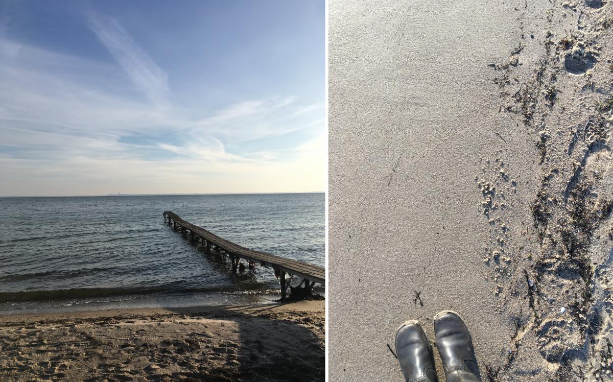 Pelzerhaken an der Ostsee | Fotos: Sabine Wittig
