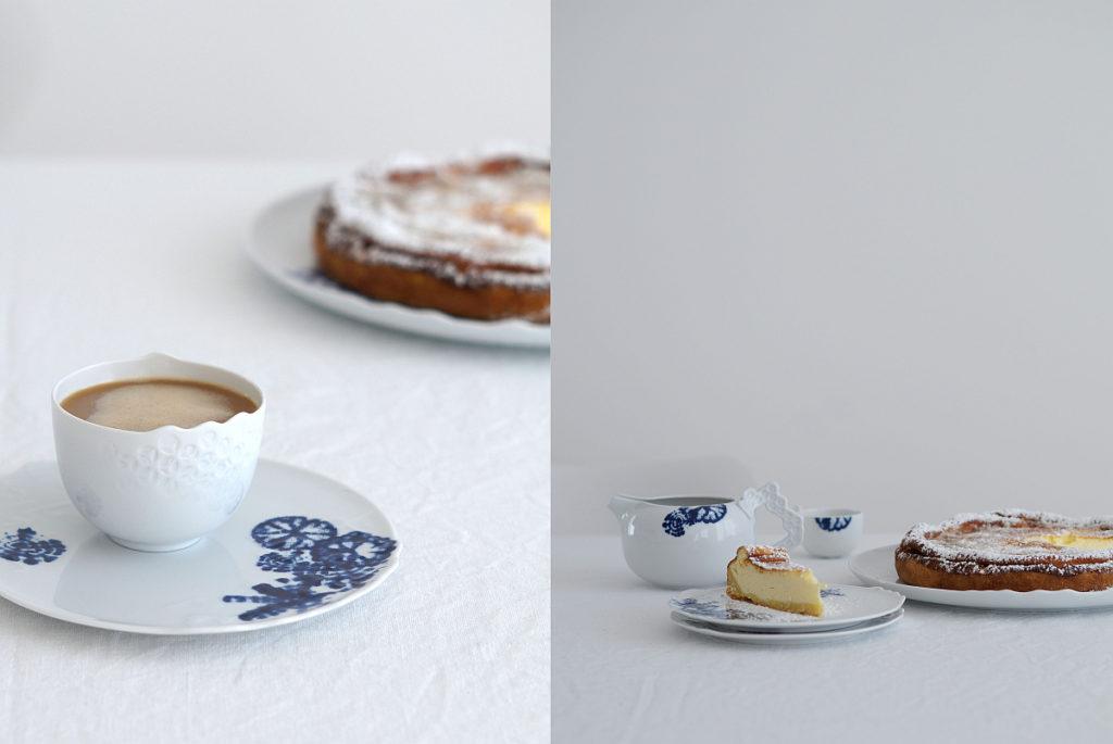 Rezept für Käsekuchen auf azurweiss | Fotos: Sabine Wittig