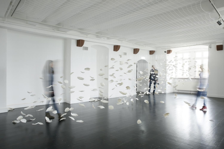 Ausstellung LEAVES im Museum Schloss Fürstenberg von Ulli Böhmelmann | Foto: Ralf Bauer