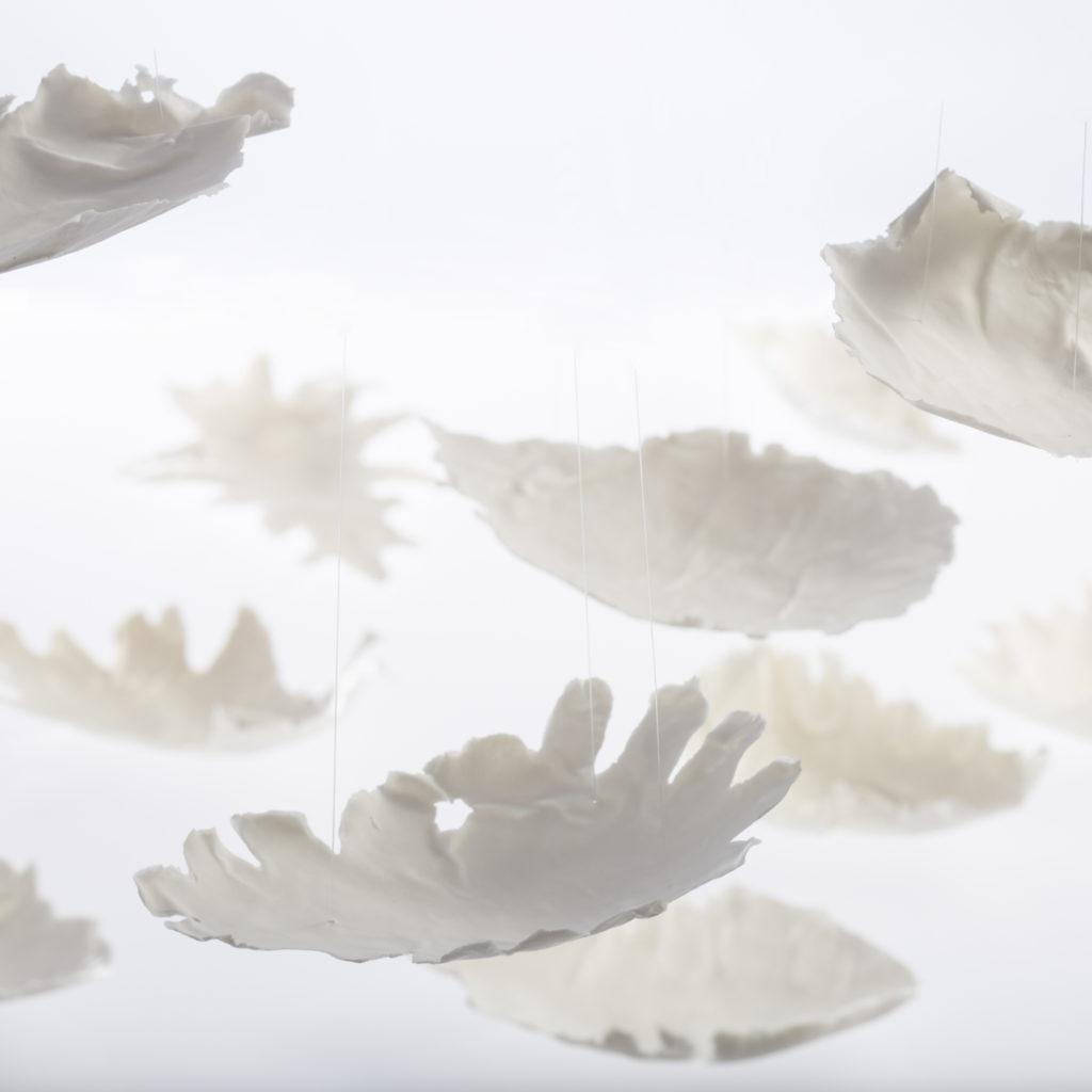 Installation Leaves von Ulli Böhmelmann im Museum Fürstenberg | Foto: Fürstenberg