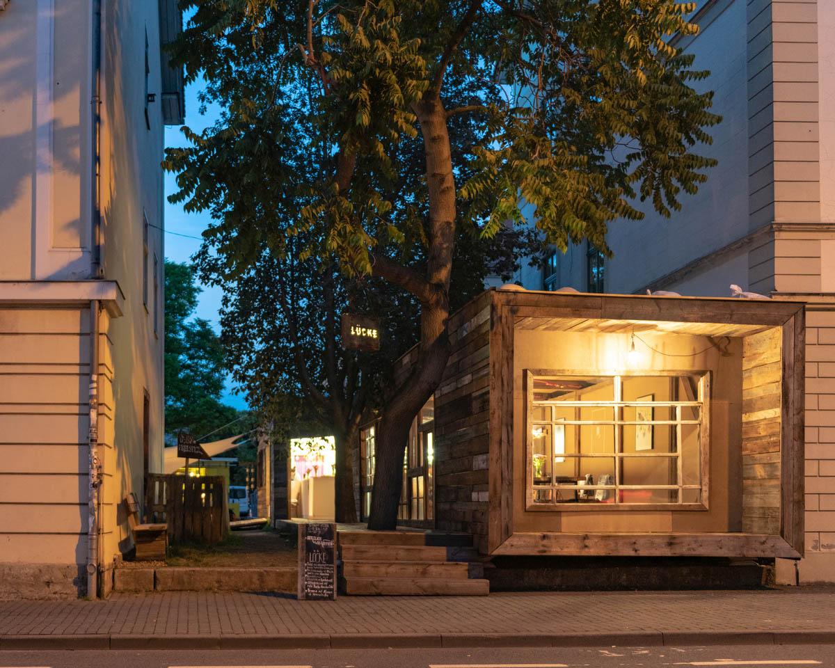 LÜCKE - Pop-up-Restaurant in Weimar