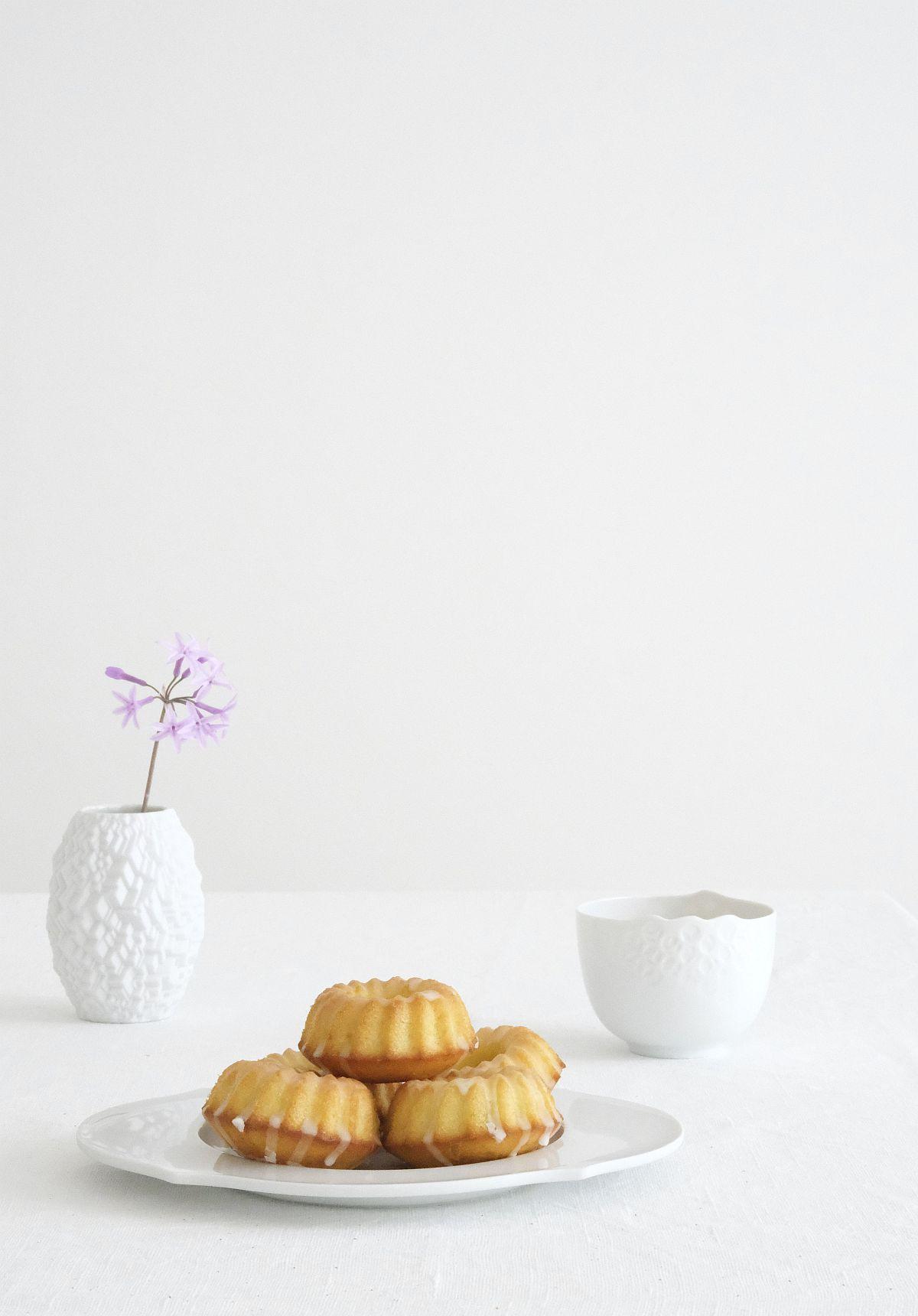 Kleine Zitronenküchlein Foto: Sabine Wittig